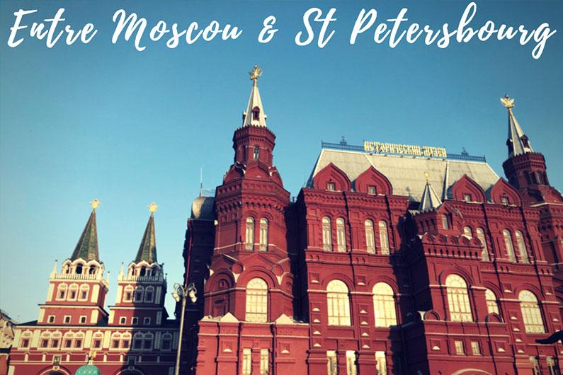VIDÉO – Retour en images sur notre combiné Moscou – St Petersbourg