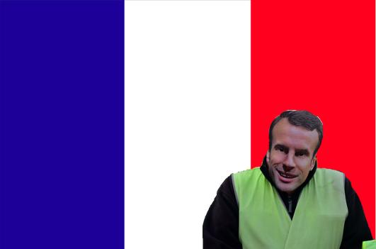 La France: bleu, blanc, rouge, jaune?