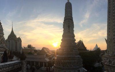 Marine en Thaïlande /1ère partie: de Bangkok à Surat Thani