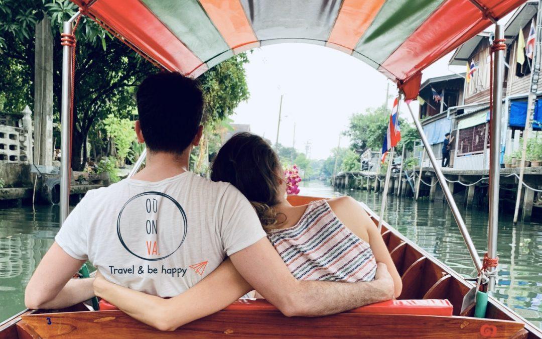 VIDÉO – Ballade sur les klongs -Bangkok / Thailande-