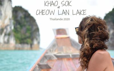 VIDÉO -Aperçu de Khao Sok et du lac Cheow Lan -Thaïlande-